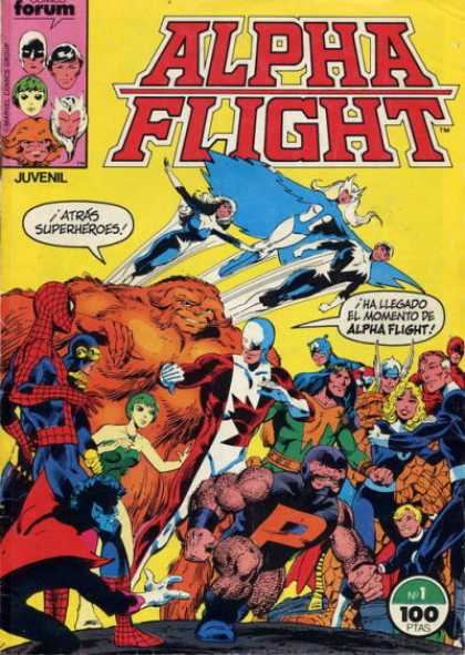 Alpha Flight (Spanish) 1