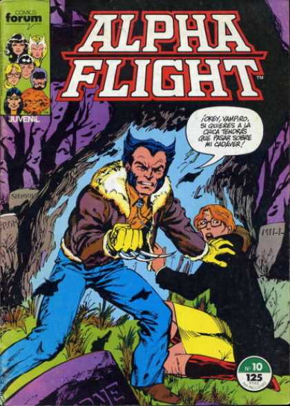 Alpha Flight (Spanish) 10