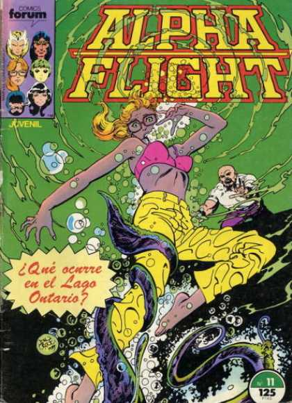 Alpha Flight (Spanish) 11