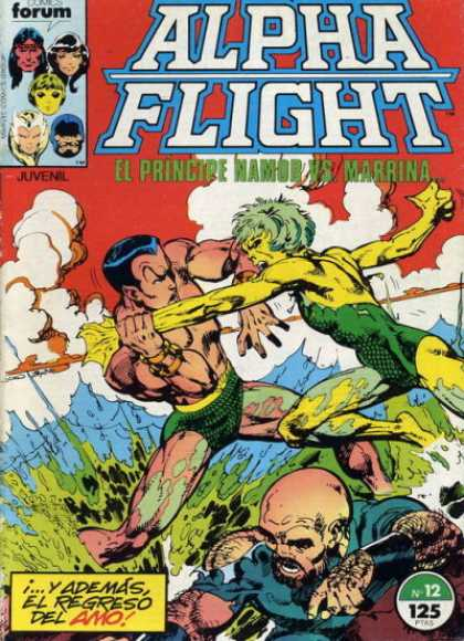 Alpha Flight (Spanish) 12