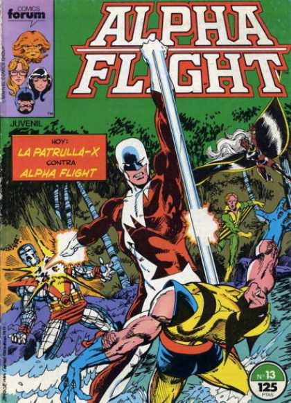 Alpha Flight (Spanish) 13