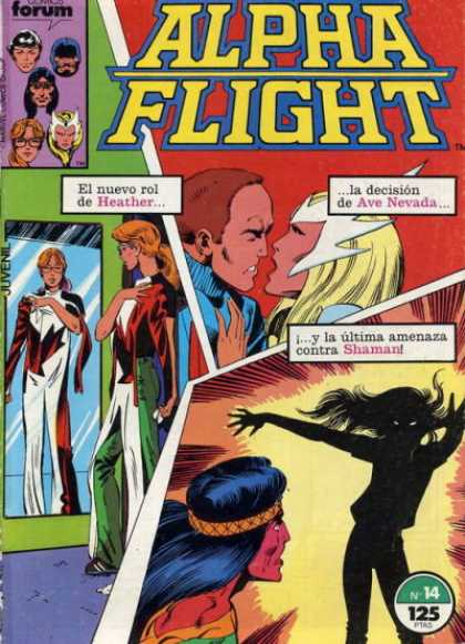Alpha Flight (Spanish) 14