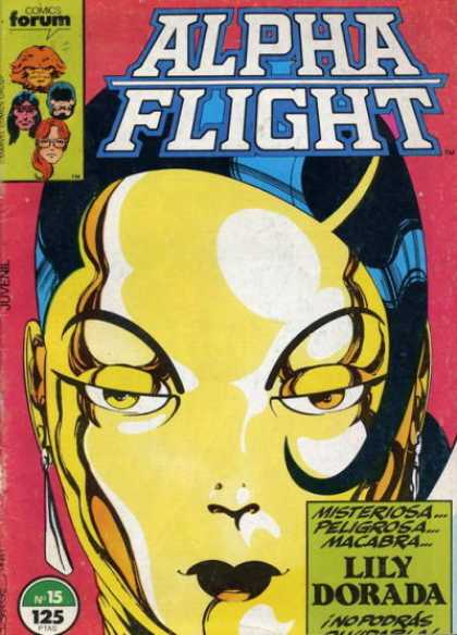 Alpha Flight (Spanish) 15