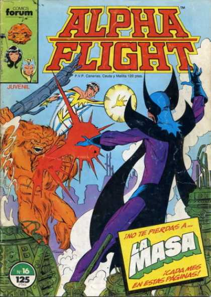 Alpha Flight (Spanish) 16