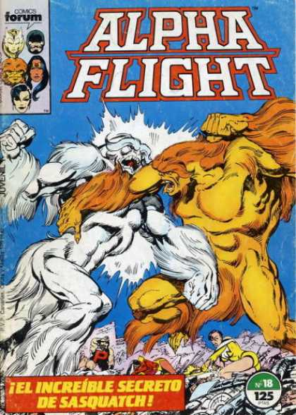 Alpha Flight (Spanish) 18