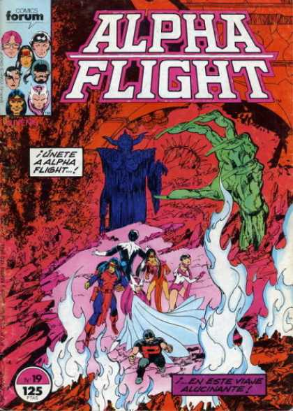 Alpha Flight (Spanish) 19