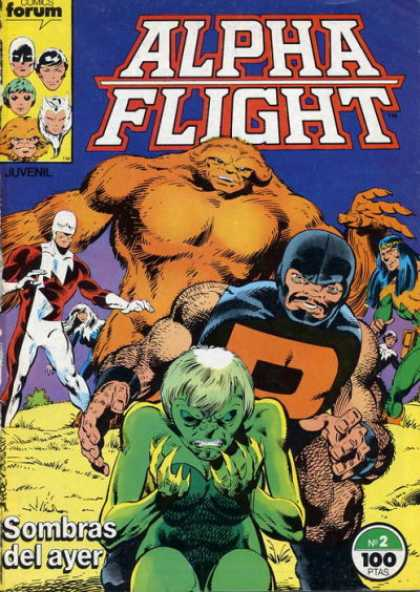 Alpha Flight (Spanish) 2