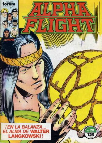 Alpha Flight (Spanish) 20
