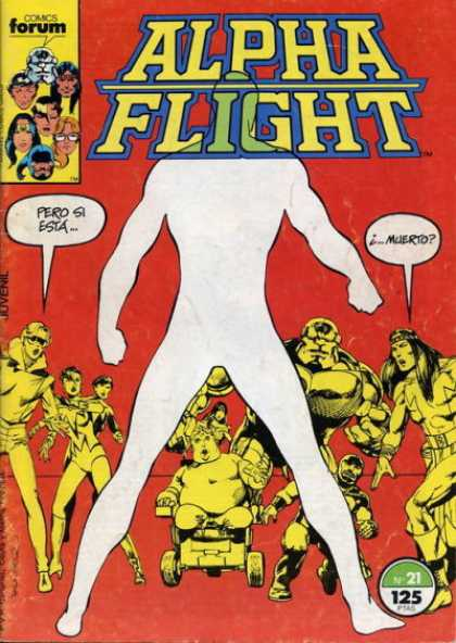 Alpha Flight (Spanish) 21