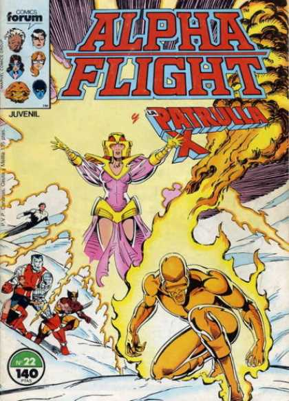 Alpha Flight (Spanish) 22