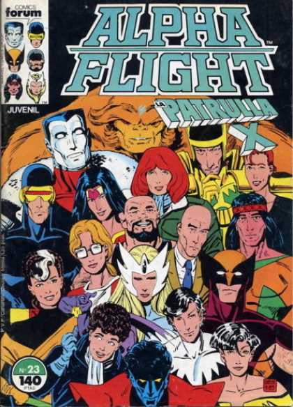 Alpha Flight (Spanish) 23