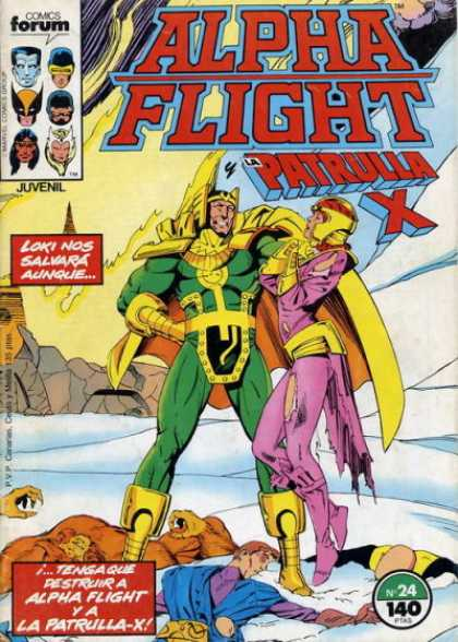 Alpha Flight (Spanish) 24