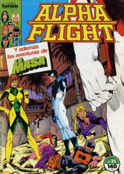 Alpha Flight (Spanish) 25