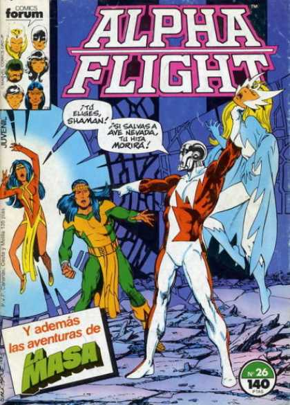 Alpha Flight (Spanish) 26