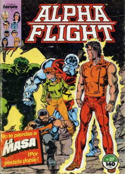 Alpha Flight (Spanish) 27