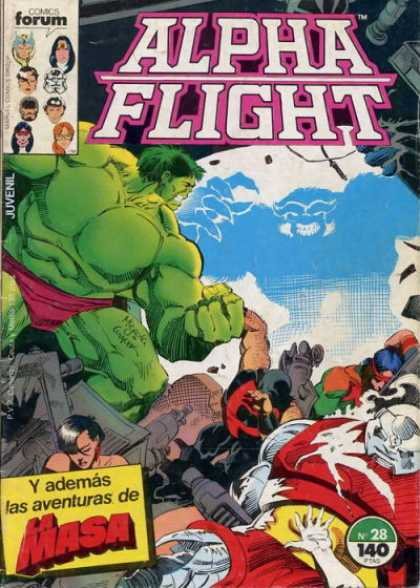 Alpha Flight (Spanish) 28