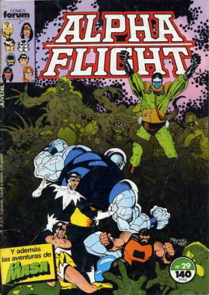 Alpha Flight (Spanish) 29