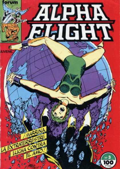 Alpha Flight (Spanish) 3