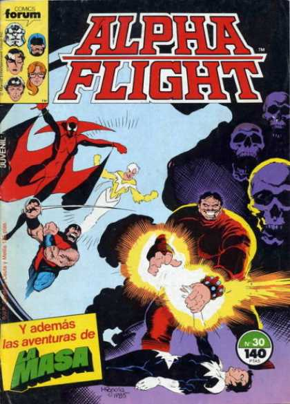 Alpha Flight (Spanish) 30