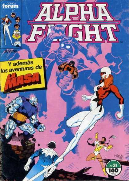 Alpha Flight (Spanish) 31