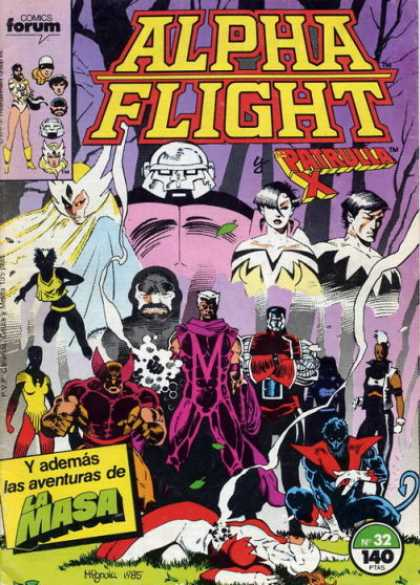 Alpha Flight (Spanish) 32