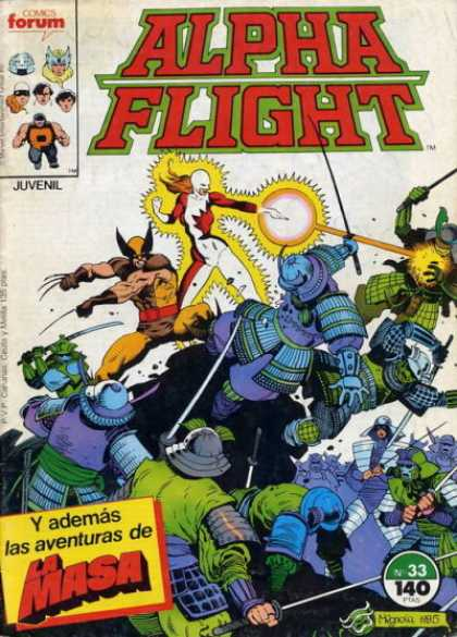 Alpha Flight (Spanish) 33