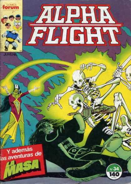 Alpha Flight (Spanish) 34