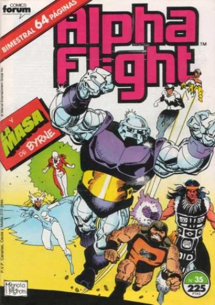 Alpha Flight (Spanish) 35