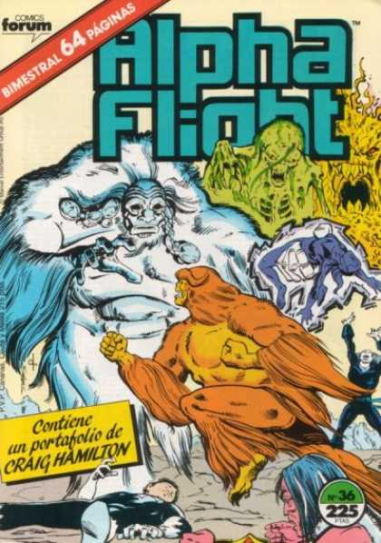 Alpha Flight (Spanish) 36