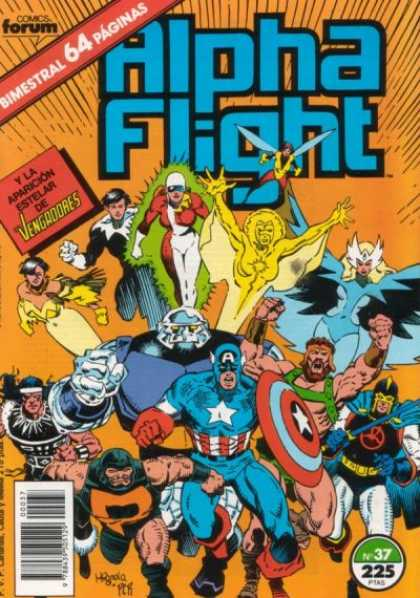 Alpha Flight (Spanish) 37