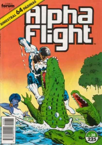 Alpha Flight (Spanish) 38