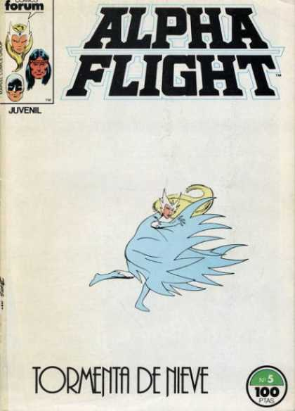 Alpha Flight (Spanish) 5