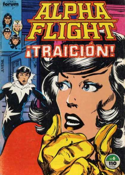 Alpha Flight (Spanish) 6