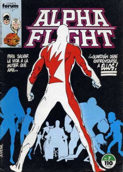 Alpha Flight (Spanish) 7