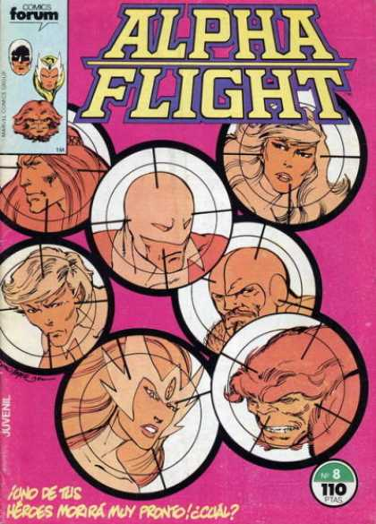 Alpha Flight (Spanish) 8