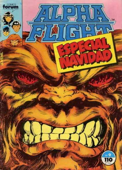 Alpha Flight (Spanish) 9