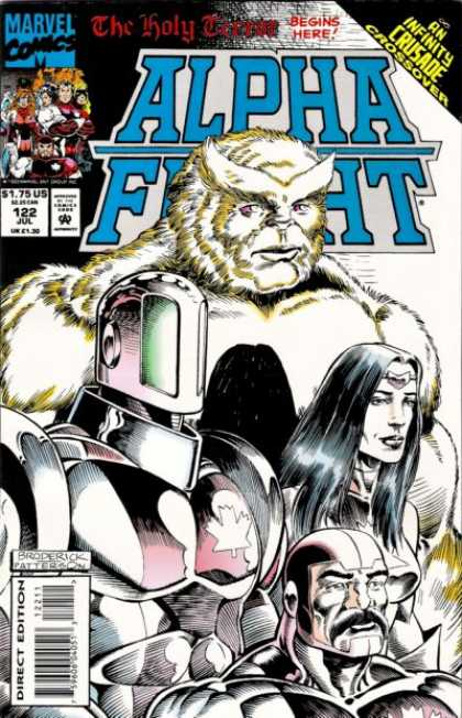 Alpha Flight 122 - Bird - Male - Man - Lady - Girl