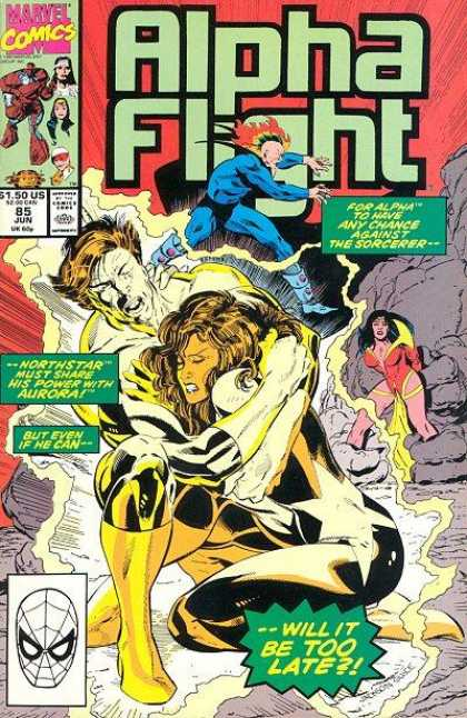 Alpha Flight 85 - Marvel Comics - Will It Be Too Late - But Even If I Can - Mutant - Super