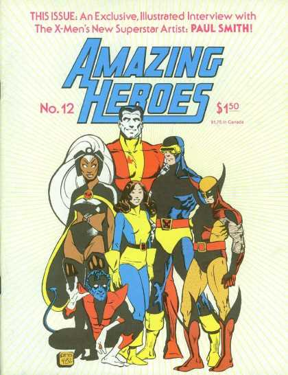 Amazing Heroes 12 - Amazing Heroes - Wolverine - X-men - Paul Smith - Cape