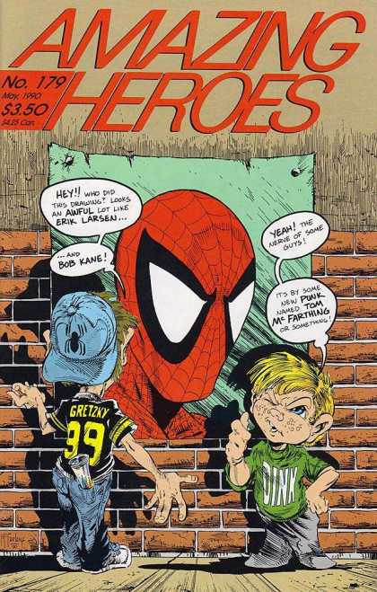 Amazing Heroes 179 - Spiderman - Marvel - Marvel Comics - Super Hero - Kids - Todd McFarlane