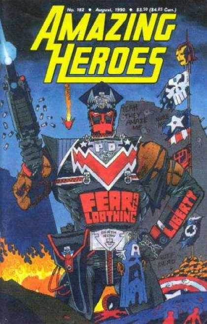 Amazing Heroes 182 - Kevin O'Neill