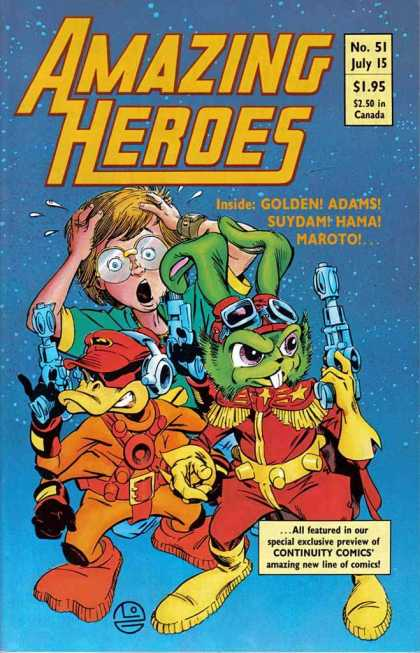 Amazing Heroes 51 - Michael Golden