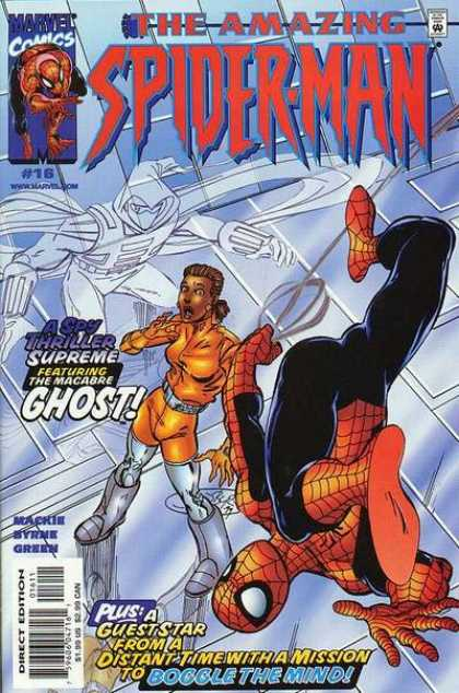 Amazing Spider-Man (1999) 16 - Marvl Comics - Approved By The Comics Code - Superhero - Ghost - Direct Edition - John Byrne