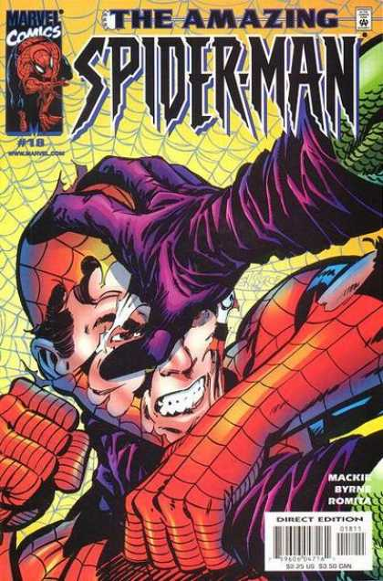 Amazing Spider-Man (1999) 18 - Wat Out - Headless - Coming Next - Man Spider - Sdflk - John Byrne