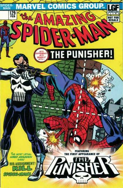"Amazing Spider-Man - ""The Punisher Strikes Twice!"" Lion's Gate Edition"