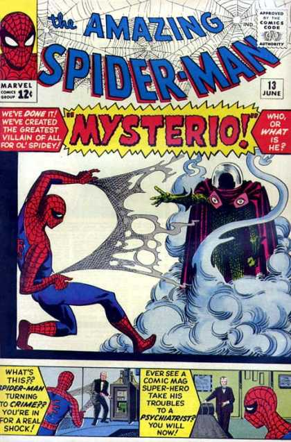 Amazing Spider-Man 13 - Mysterio