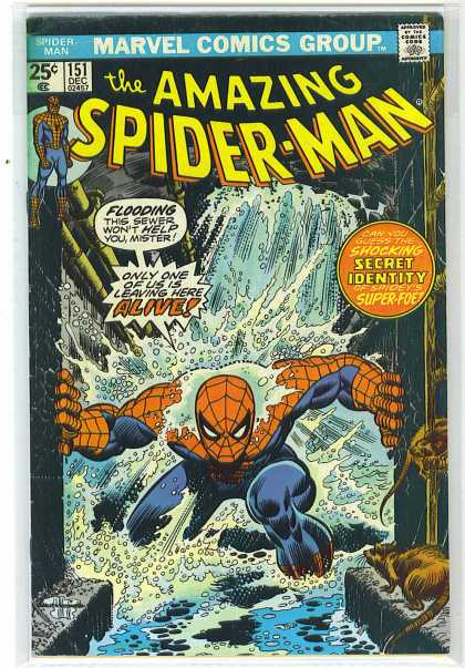 Amazing Spider-Man 151 - Sewer - Rats