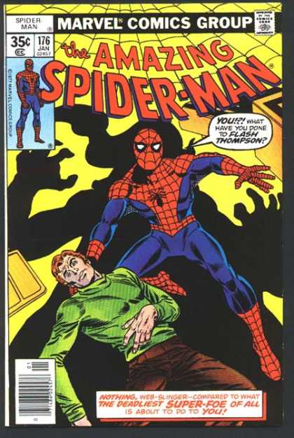 Amazing Spider-Man 176 - Flash Thompson - Flash - Ross Andru