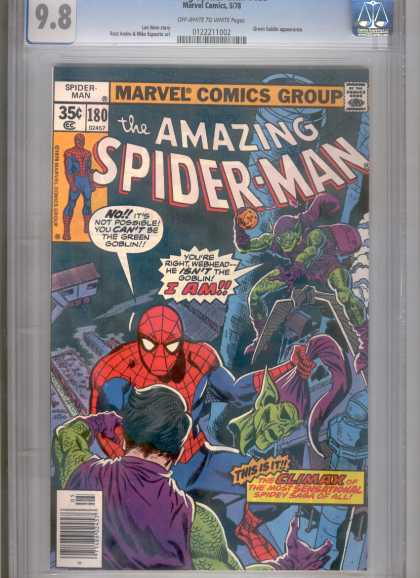 Amazing Spider-Man 180 - Green Goblin - Climax - Spiderman - Amazing - Webhead - Ross Andru