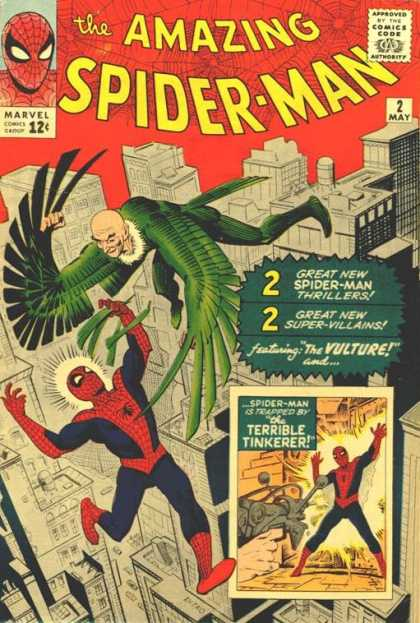 Amazing Spider-Man 2 - Vulture - Tinkerer - Spiderman
